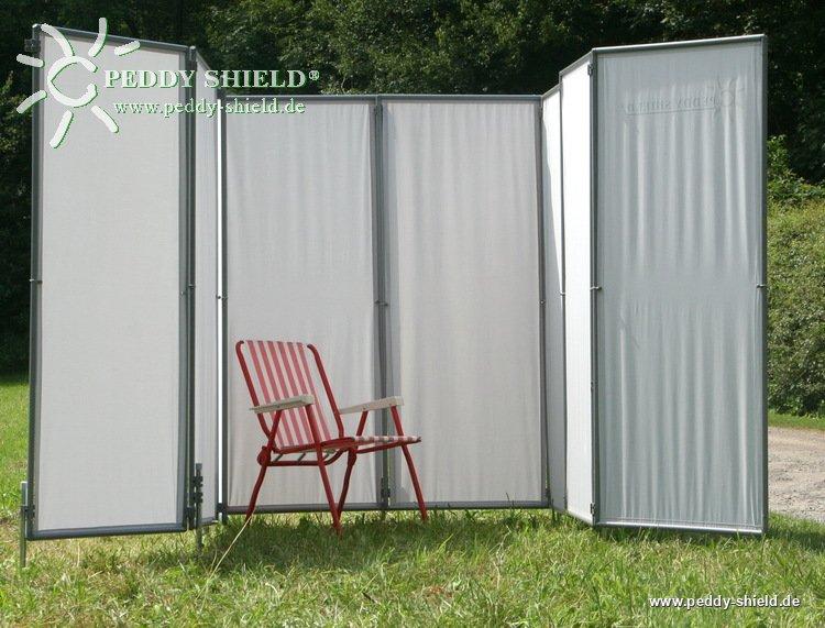 paravent dans le jardin. Black Bedroom Furniture Sets. Home Design Ideas