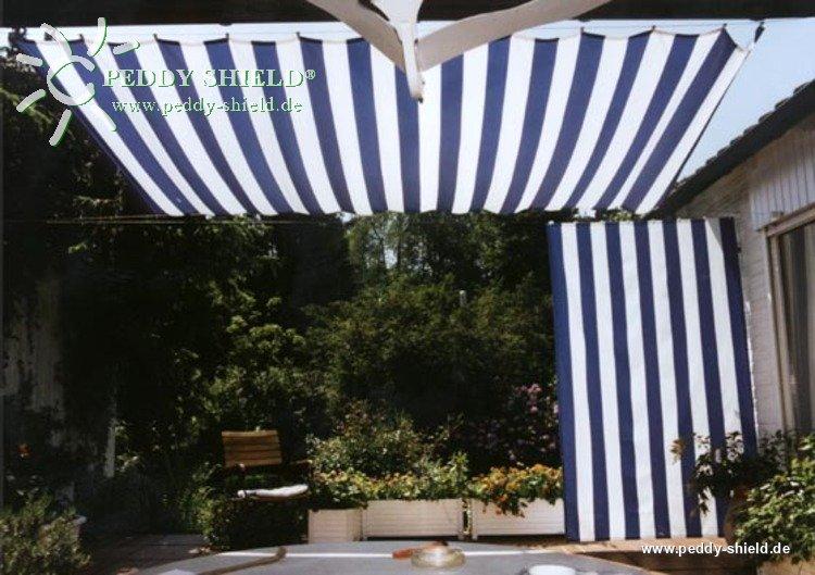 voile d ombrage verticale pour balcons. Black Bedroom Furniture Sets. Home Design Ideas