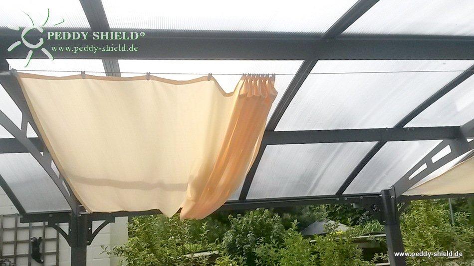 Toile solaire ivoire 2 70m par 140 cm - Toile protection solaire ...