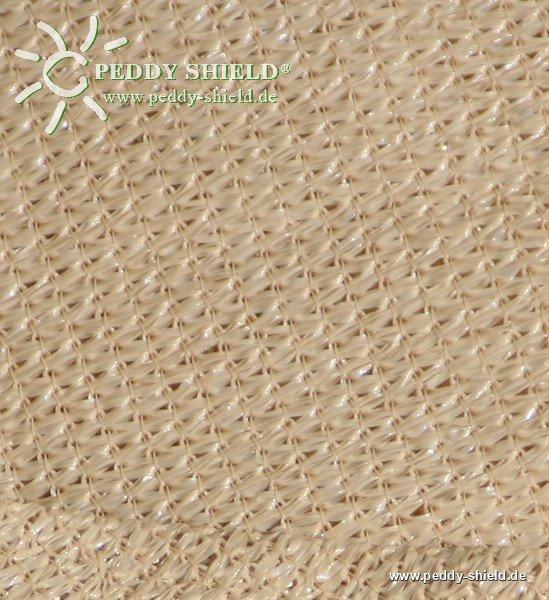 toile solaire triangulaire 5 m store imputrescible tissu ajour couleur sable. Black Bedroom Furniture Sets. Home Design Ideas